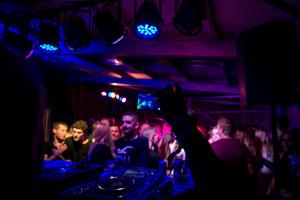DJ sets were popular