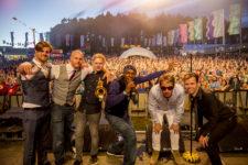 Dub Pistols, Main Stage, Beatherder Festival 2016