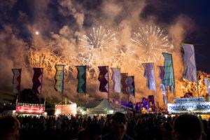 Fireworks, Beatherder Festival 2016